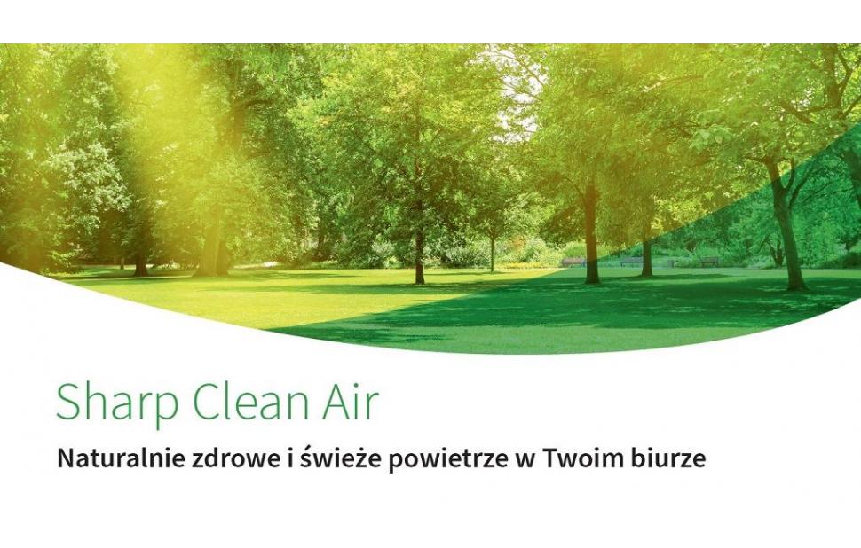 Oczyszczacze powietrza z innowacyjną technologią Plasmacluster