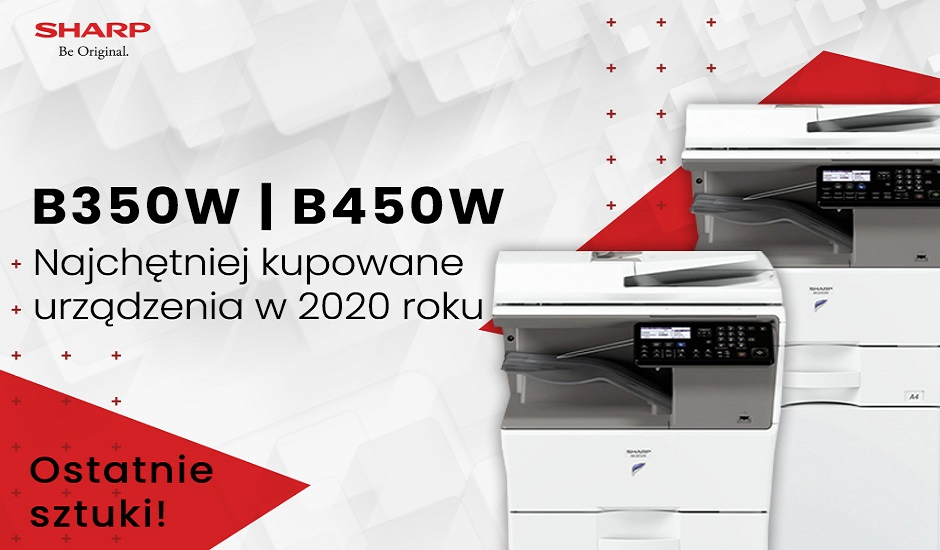 Promocja Sharp MX-B350W/B450W