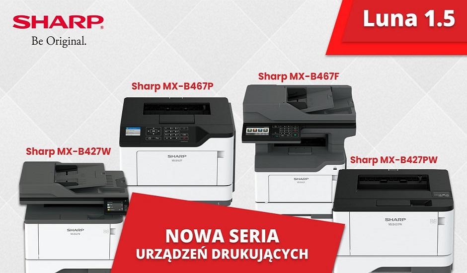 Nowa seria urządzeń drukujących Sharp - Luna 1.5