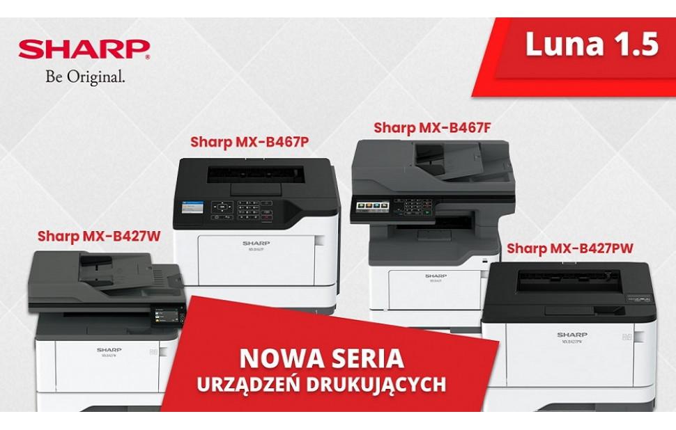Nowa seria urządzeń drukujących - Luna 1.5