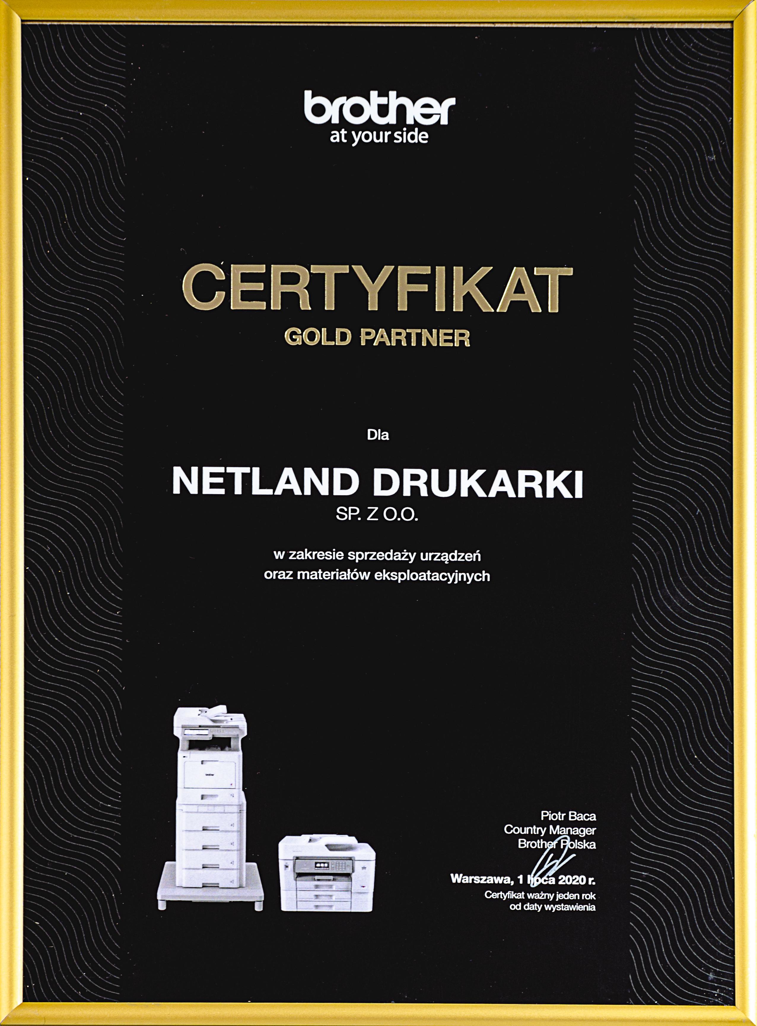 certyfikat-gold-partner